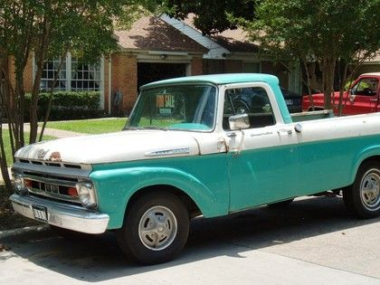 1961 Ford Custom Cab Ford Trucks For Sale Old Trucks Antique
