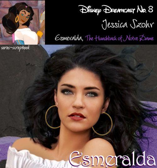 Esmeralda=Jessica Szohr