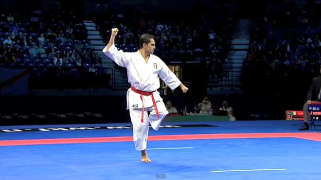 Interview To Luca Valdesi Silver Medallist Karate Kata Karate