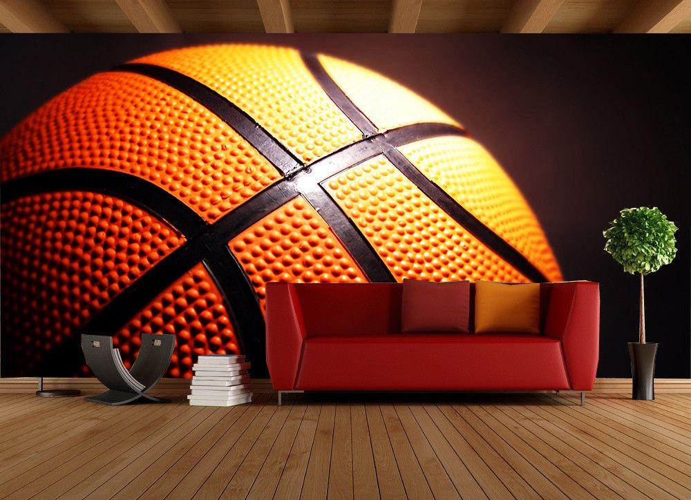 3d Basketball Photo 84 Wall Paper Murals Wall Print Wall Wallpaper Mural Au Kyra Mural Wallpaper Wall Wallpaper Wall Murals