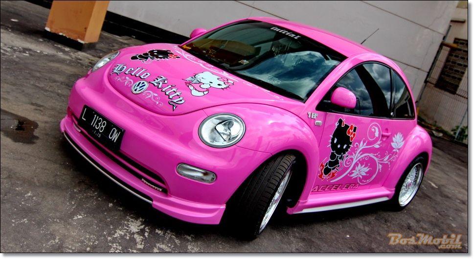 Volkswagen New Beetle Accessories Volkswagen Beetle Pinky Hello Kitty Automotive News And
