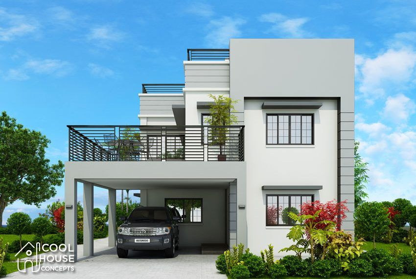 Chc view two story house design square meter modern contemporary homes also designs pinterest rh