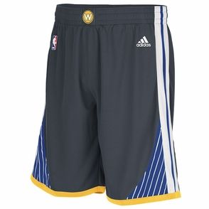 Golden State Warriors Adidas Swingman Shorts Grey Nba Uniforms Basketball Shorts Adidas Basketball Shorts