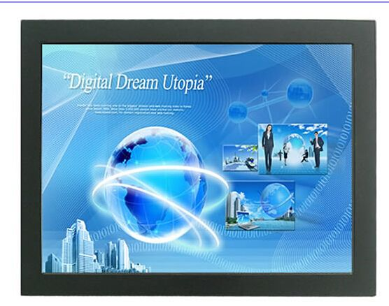 Factory Hot Sale 12 1 Open Frame Touch Monitor 4 Wire Resistive 12 1 Inch Touch Screen Computer Monitor With Slim Metal Case Open Frame Frame Lcd Monitor