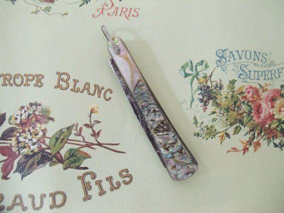 Vintage Mother of Pearl Pocket Knife for by UrbanRenewalDesigns, $18.00