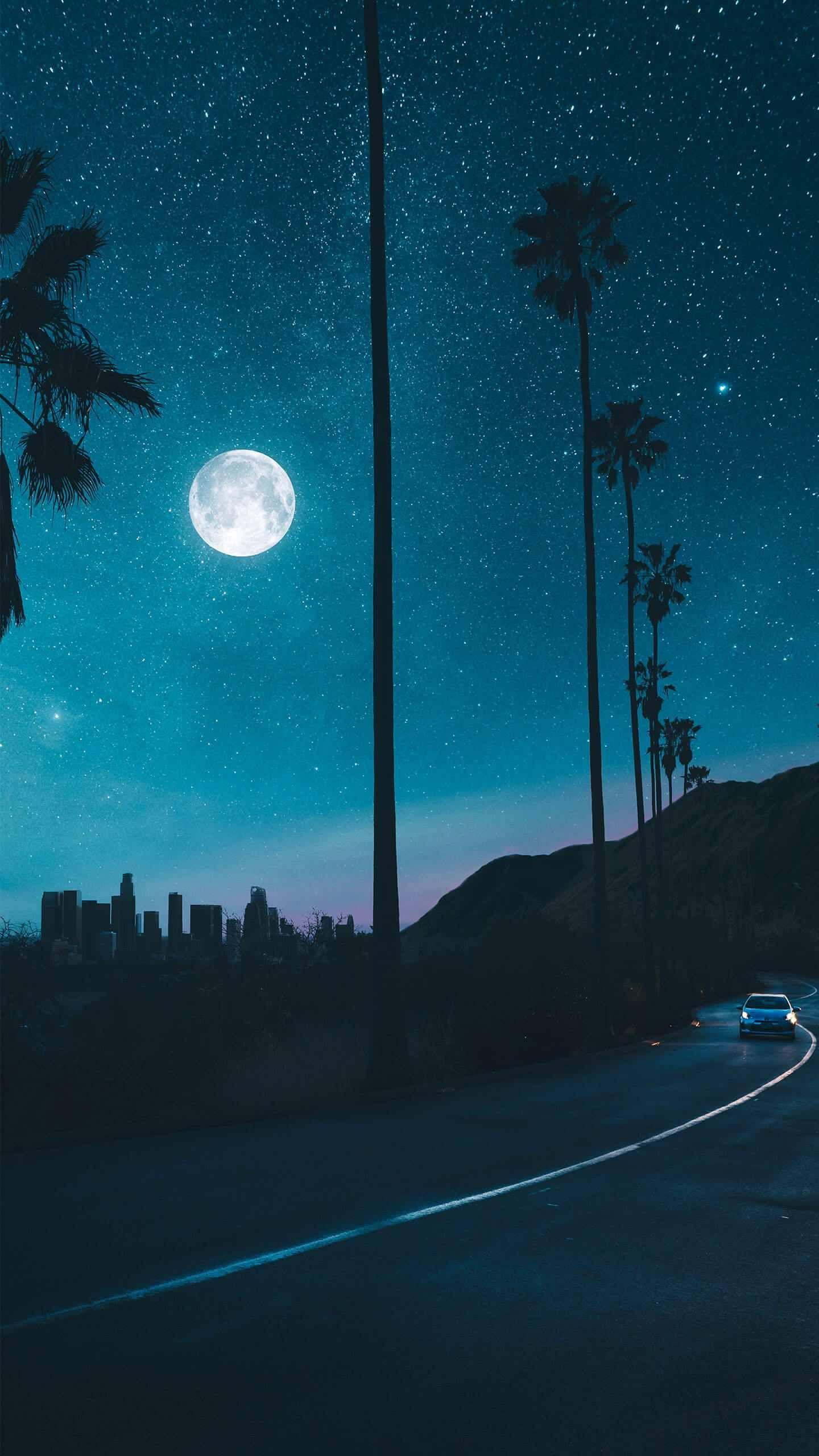 City S Night Night Sky Wallpaper Sky Full Of Stars Wallpaper Diy Crafts