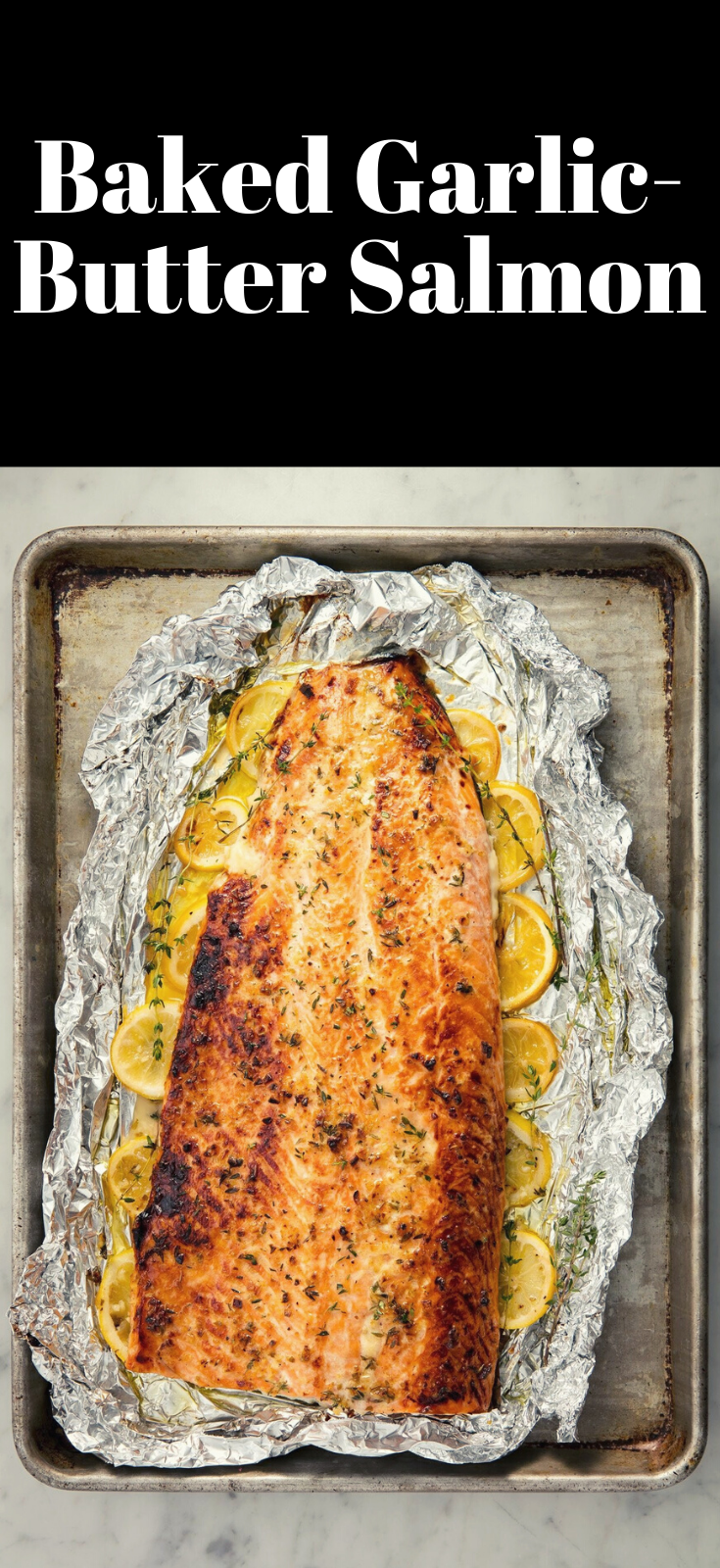 Photo of Baked Garlic-Butter Salmon Healthy Recipes