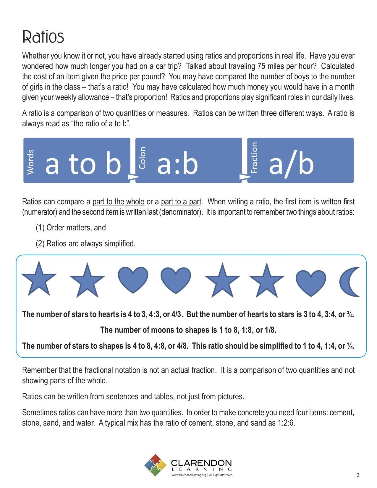 6th Grade Ratio Tables Worksheets Ratiotableworksheets