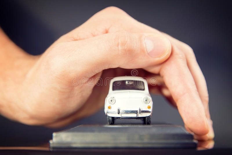 Car insurance and collision damage waiver concepts car