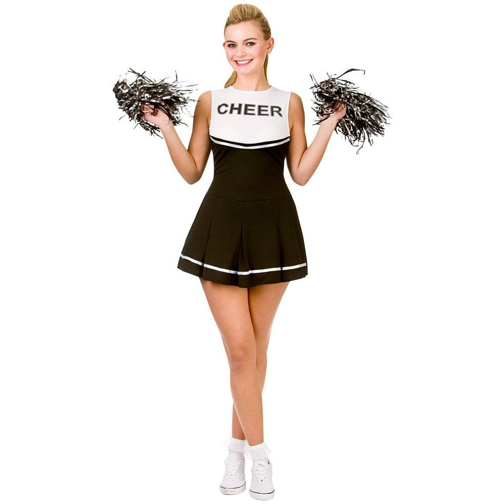 Rachel High School Cheerleader Kostüm schwarz #fancydress