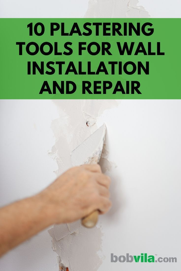 10 plastering tools for wall installation and repair in