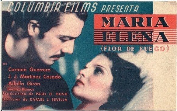 María Elena Flor De Fuego 1936 Tt0026690 Carteles De Cine Carteles De Películas Cine