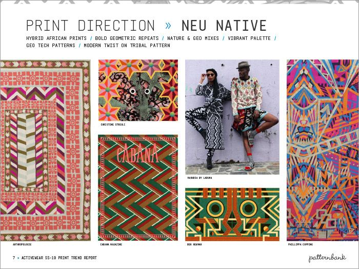 Activewear Print & Pattern Trend Report - Spring/Summer 2019 ...