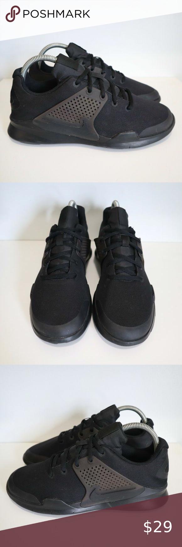 Esquiar refugiados nitrógeno  Nike Arrowz (GS) Sneakers Triple Black Similar to Nike air max af1 force  hypervenom revolution reax blazer sb shox Nik… | Sneakers, Triple black,  All black sneakers