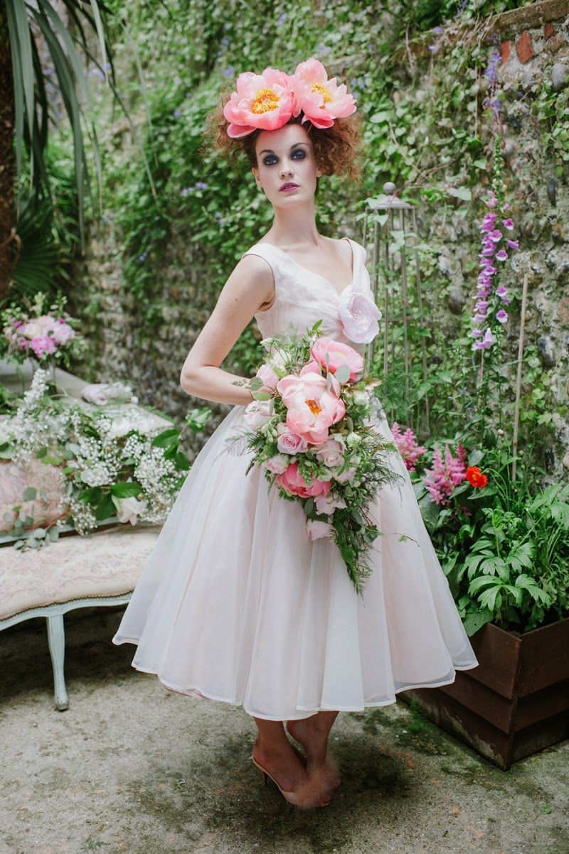 20 of the Most Vintage Tealength Wedding Dresses for