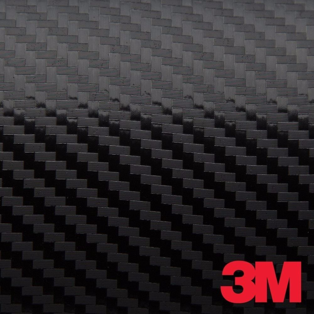 3M 1080 Black Gloss Vinyl Car Wrap Decal Roll