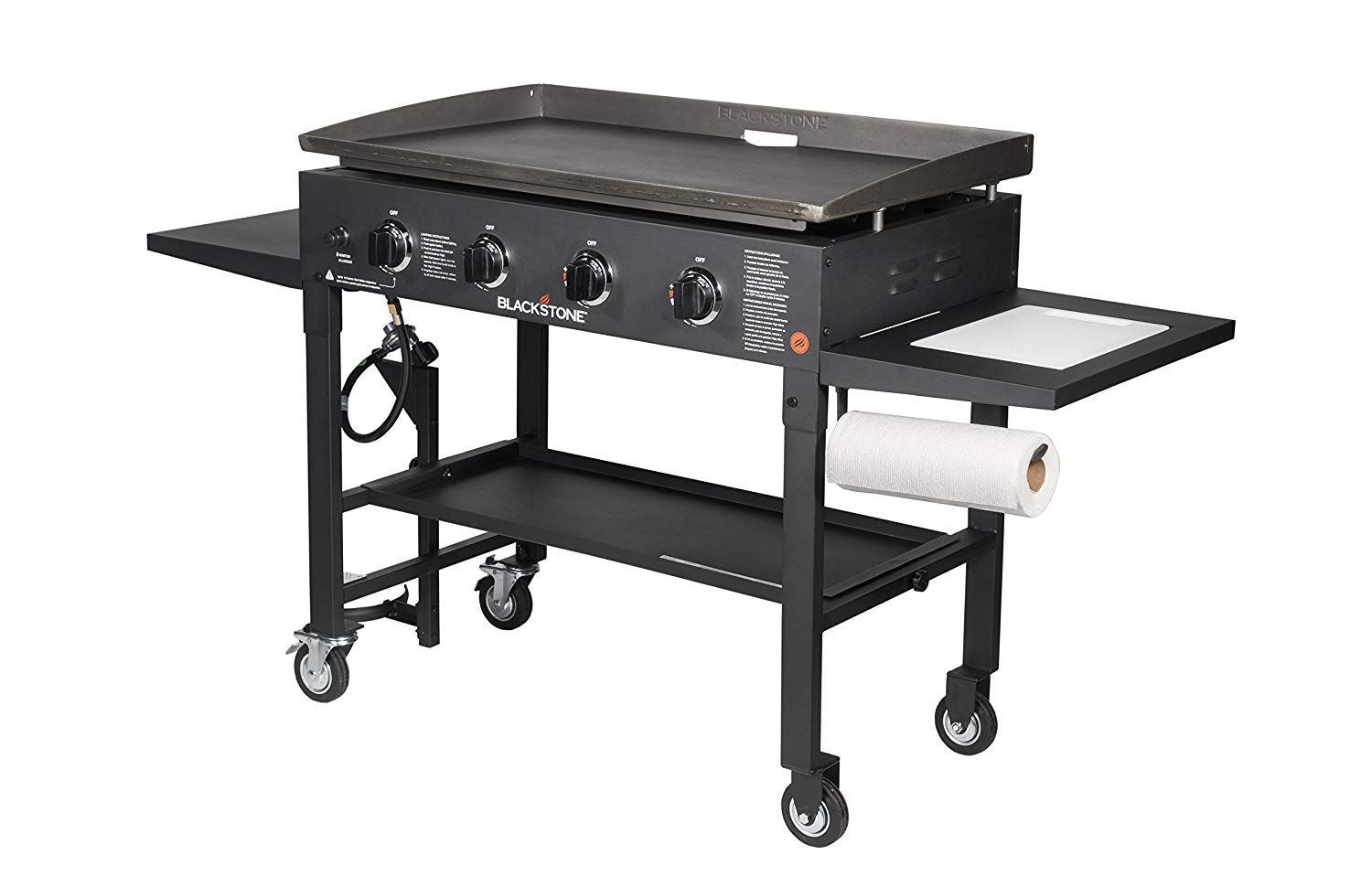 36 Griddle Cooking Station With Accessory Side Shelf Blackstone