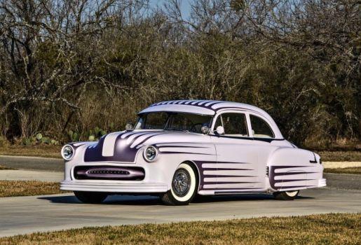 1951 Pontiac Chieftain Pontiac Chieftain Pontiac Shaved Door Handles