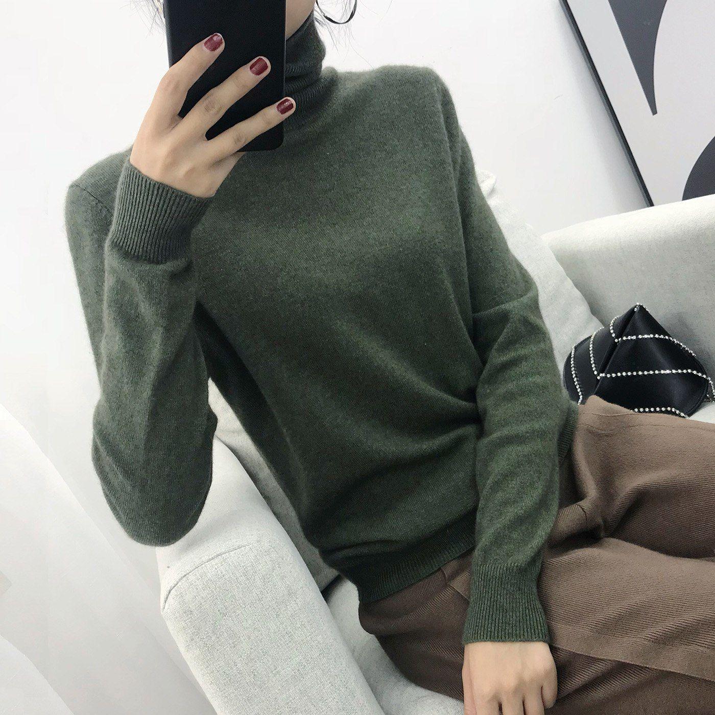 022c6107c8aa22 2018 Cashmere Sweater Women Turtleneck Women s Knitted Turtleneck Winter  Cashmere Sweater For Women Warm Sweaters Female  алиэкспресс  aliexpress
