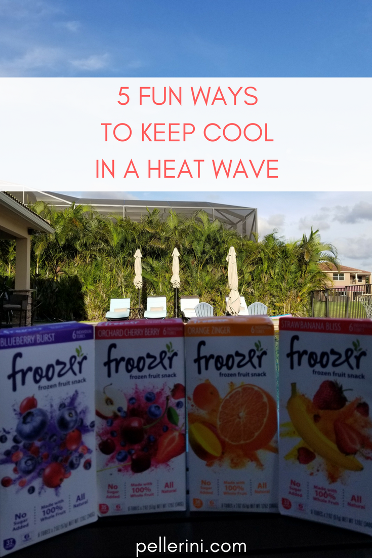Ad I M Always Looking For How To Stay Cool In The Heat Outside Here Are Five Of Our Favorite Ways Keep A Wave