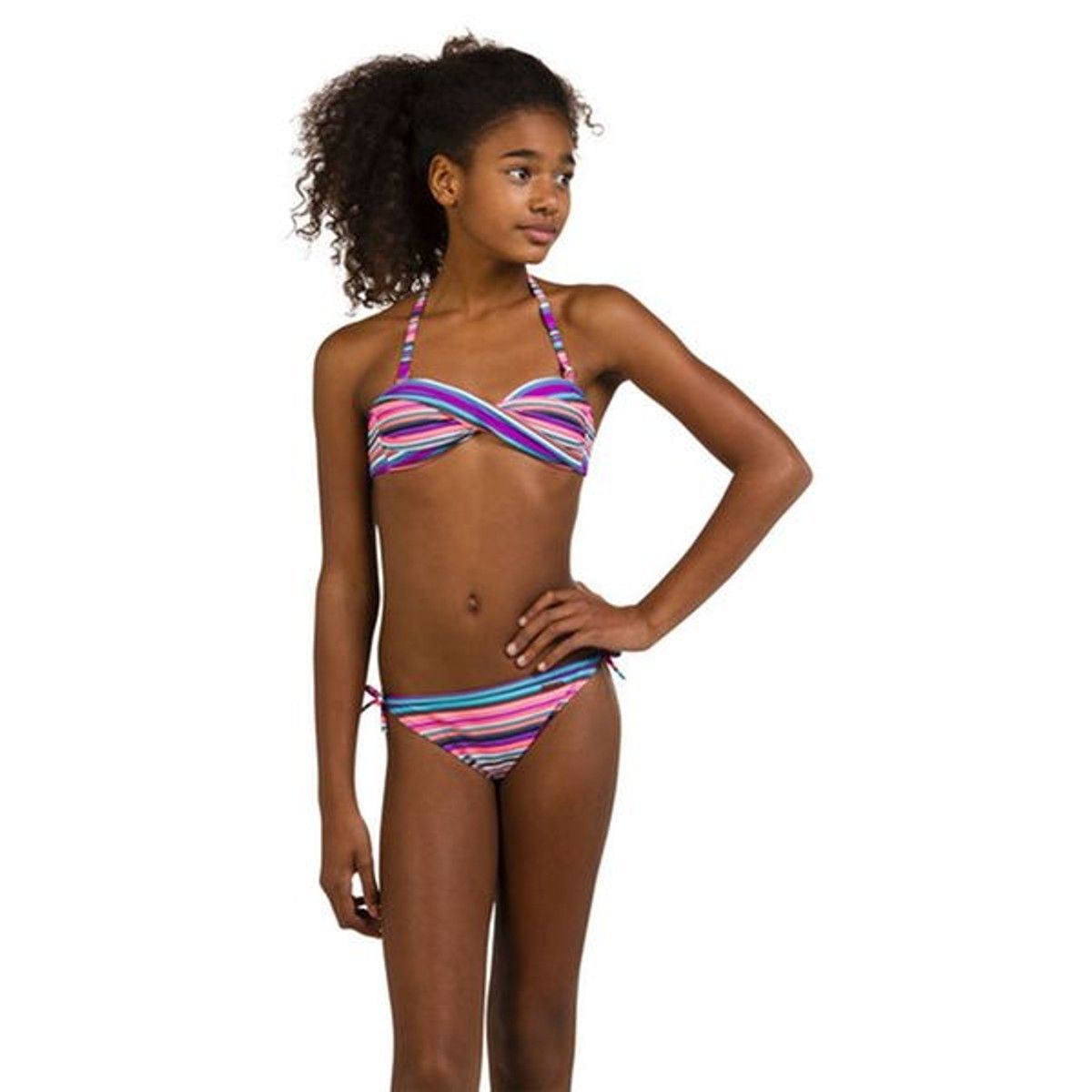 pretty cool free shipping order Maillot De Bain Bandeau En Deux Pièces Orly - Taille : 13/14 ...