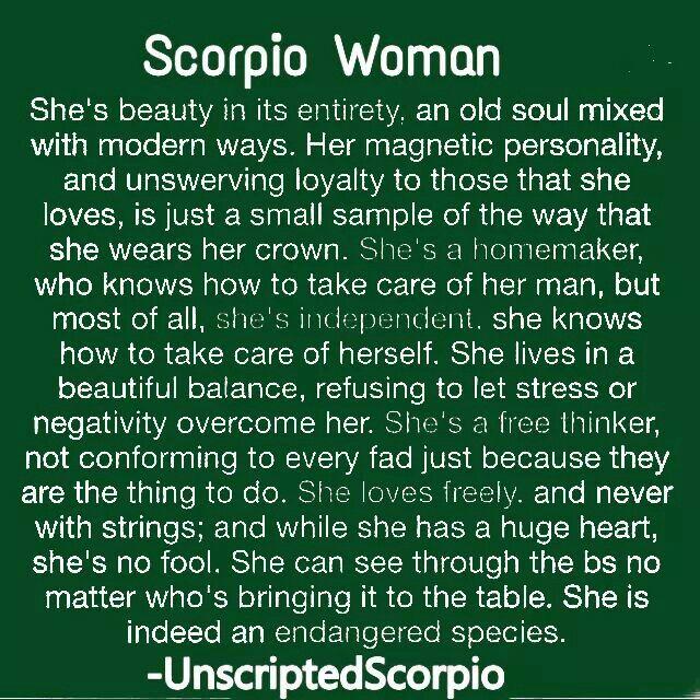 Traits positive scorpio Positive Traits