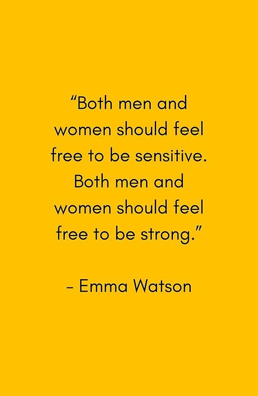 Feminist Quotes Delectable Feel Free To Be Sensitive  Feminist Quote' Art Print
