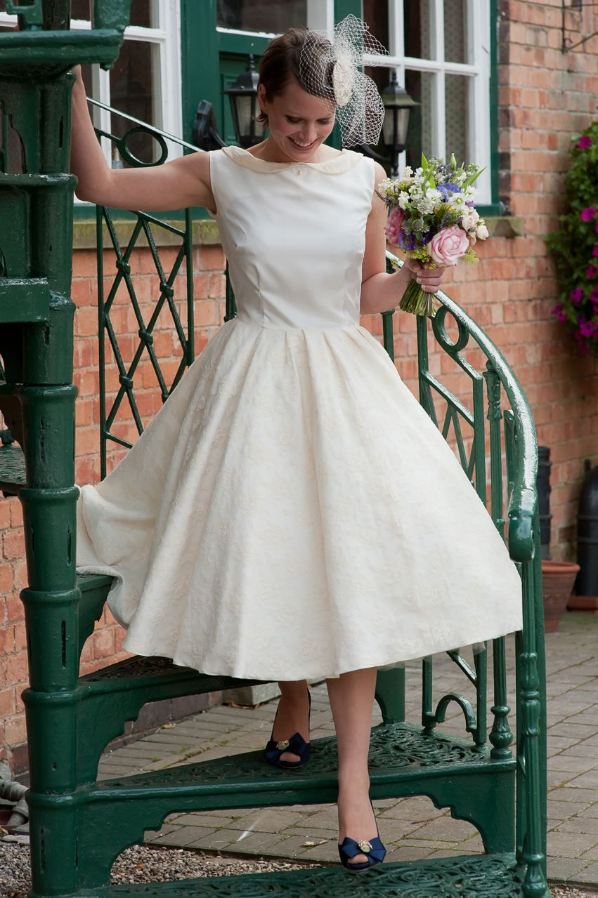 Pennycones A 1950 S Inspired Wedding Dress Dresses Wedding Inspiration Wedding Dresses