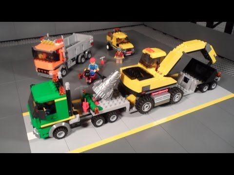 Lego 4203 Review Excavator Transport City Mining Lego Lego City Lego Review