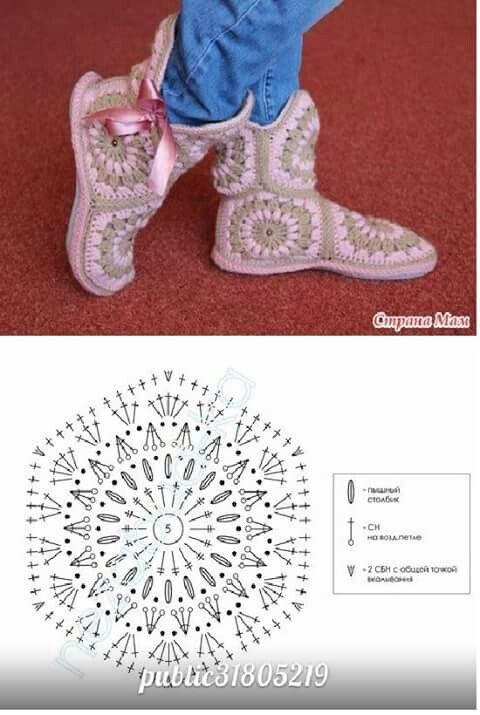 Pantuflas hechas con hexagonos, gráfico del hexágono | Patrones ...