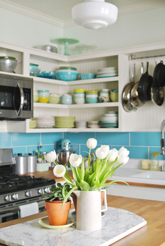 Exceptional This Cheerful Kitchen Makeover Will Have You Pining For Spring    CountryLiving.com · Kitchen MakeoversKitchen ...