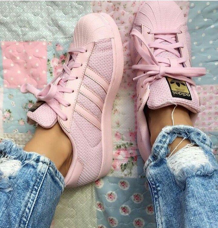Adidas Superstar feminino show de rosa | Schuhes | | | Pinterest | Adidas 88de27
