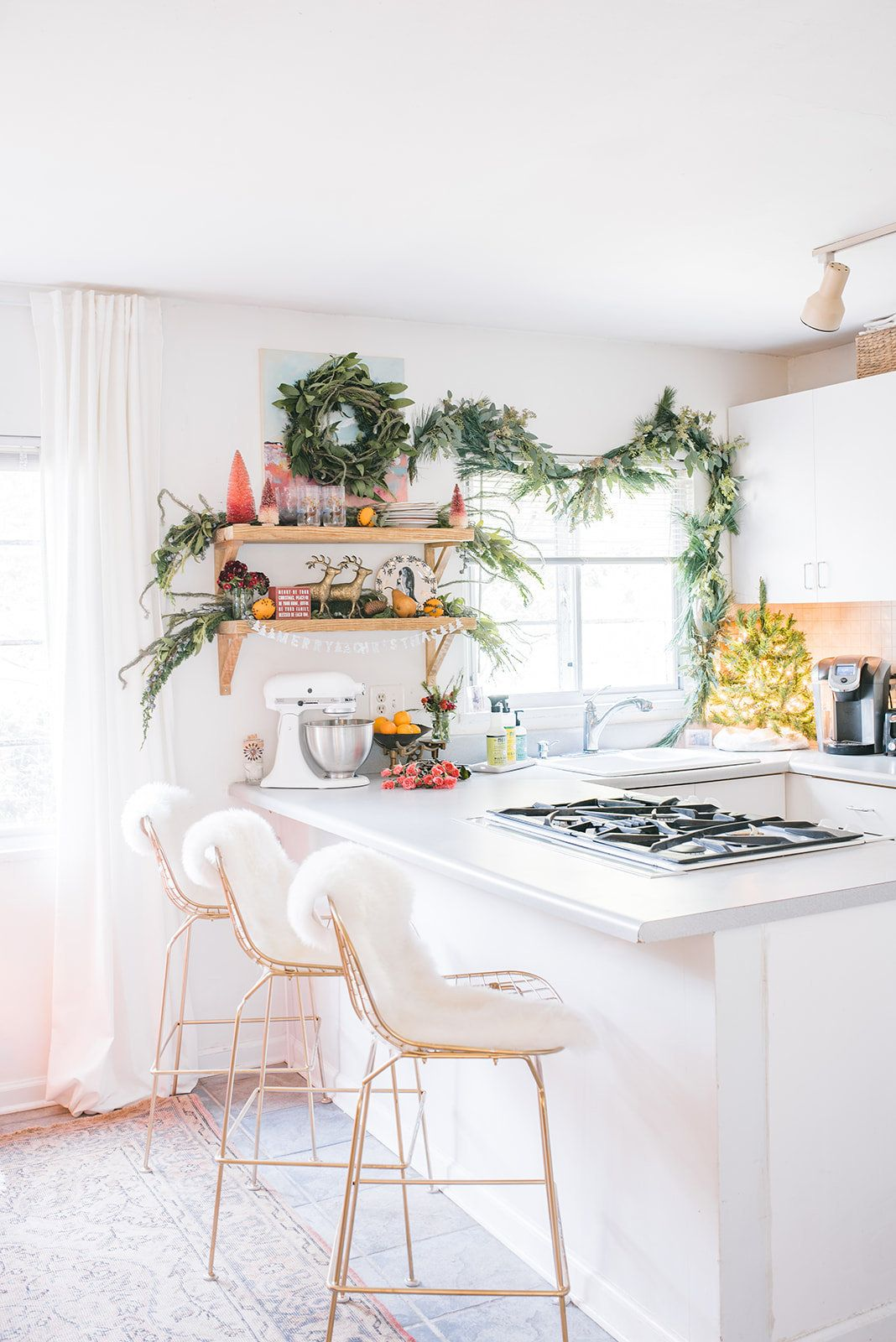 holiday decor for kitchens jaime roberts designs hannah lozano photography boho chic on boho chic interior design kitchen id=27681