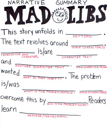 This is an image of Stupendous 4th Grade Mad Libs