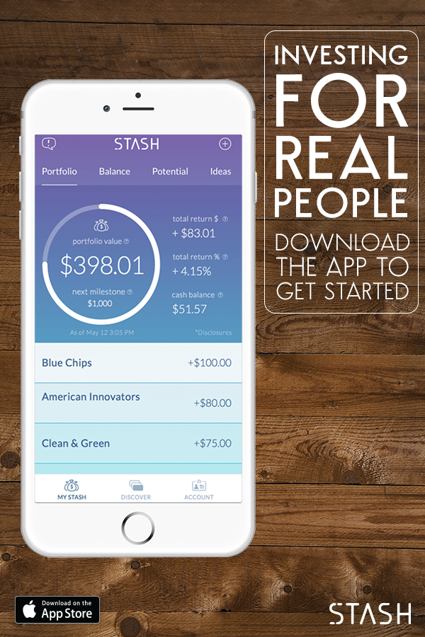 Start investing in 2 minutes with as little as $5 with Stash—the free app that empowers you to become an investor. Create your own portfolio, learn to invest and gradually build your stash in a way that works for you. Download Stash for free today!
