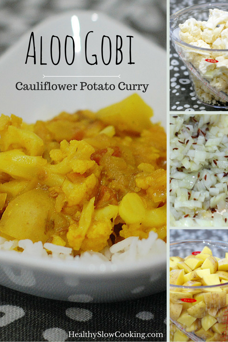 how to make potato cauliflower curry
