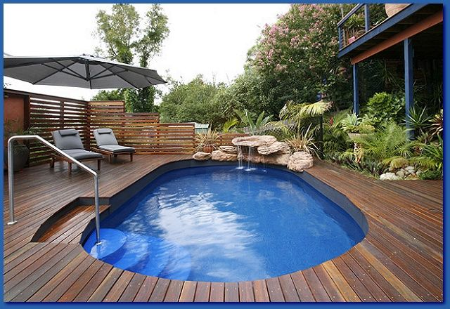 Saltwater Pool Above Ground Pool Landscaping Best Above Ground Pool Above Ground Pool Decks