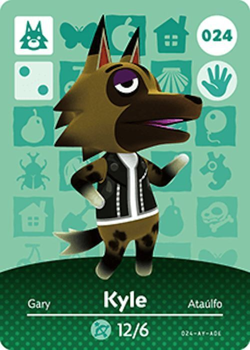 Nintendo animal crossing happy home design kyle amiibo card usa version also best images videogames video game games rh pinterest