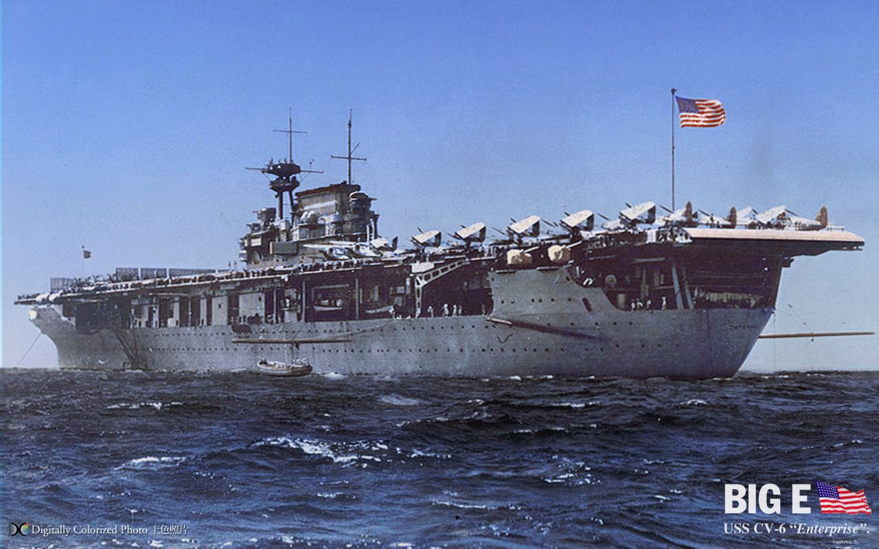 cv 6 uss enterprise the most decorated warship in u s