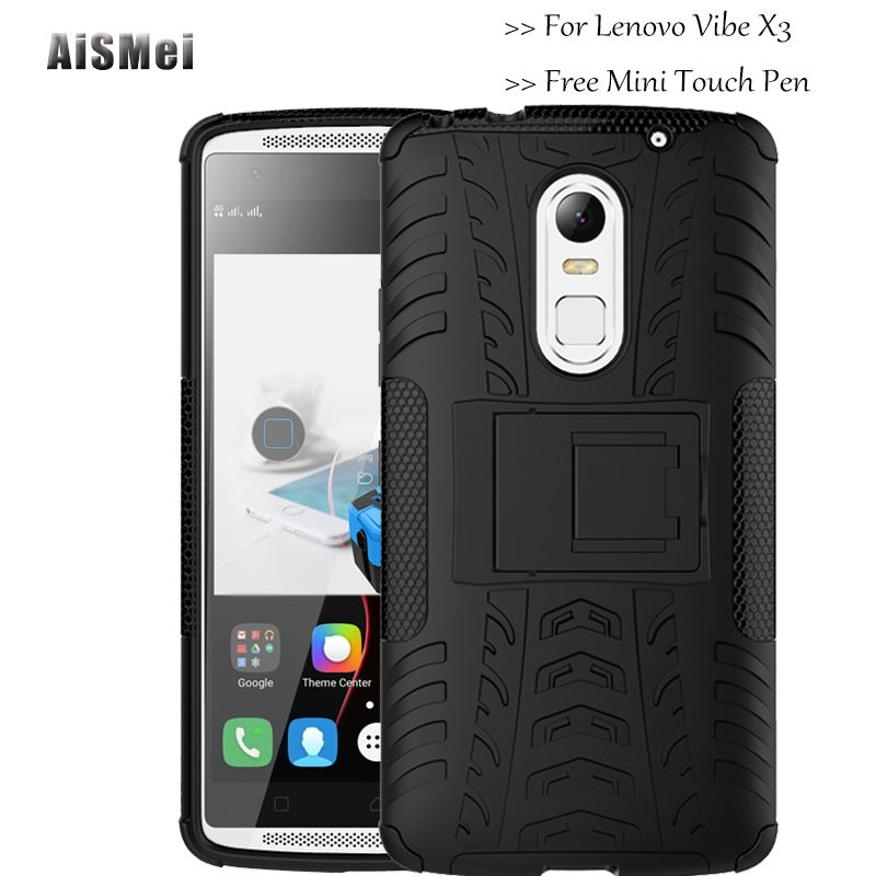 US $6 99] AiSMei Coque C50 C70 a40 Armor Case For Lenovo vibe X3
