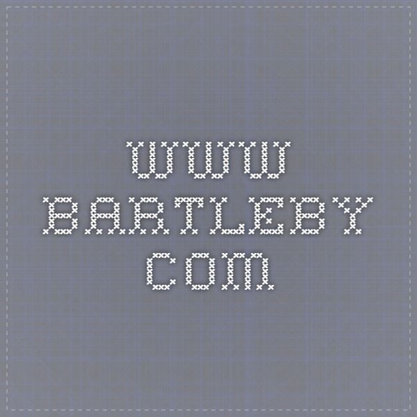 www bartleby