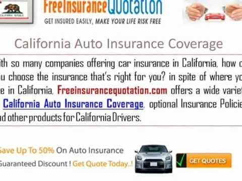 California Auto Insurance Company Cheap Auto Insurance Companies