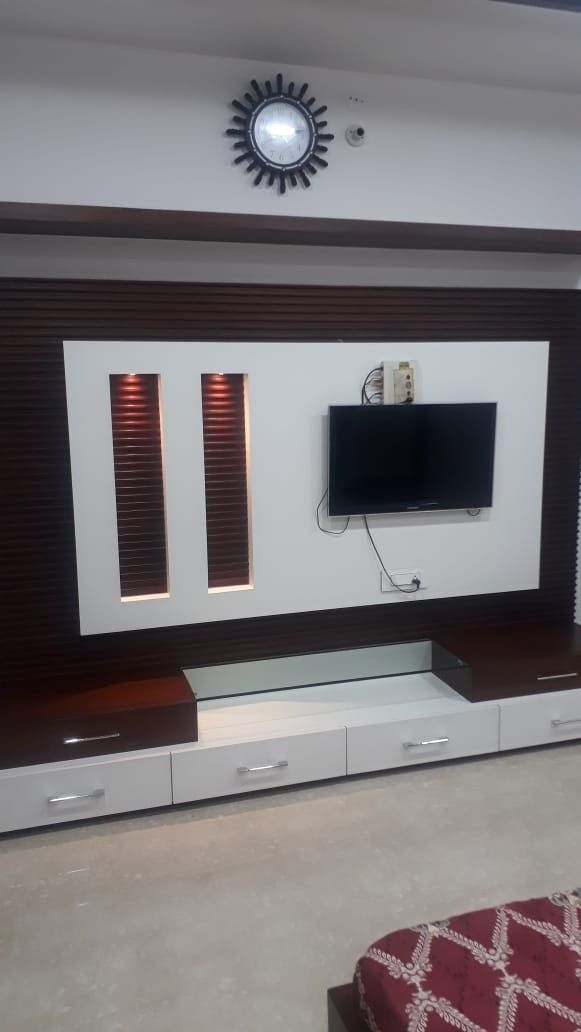 Latest Tv Unit Design: Pin By Sonu Singla On Sonu In 2020