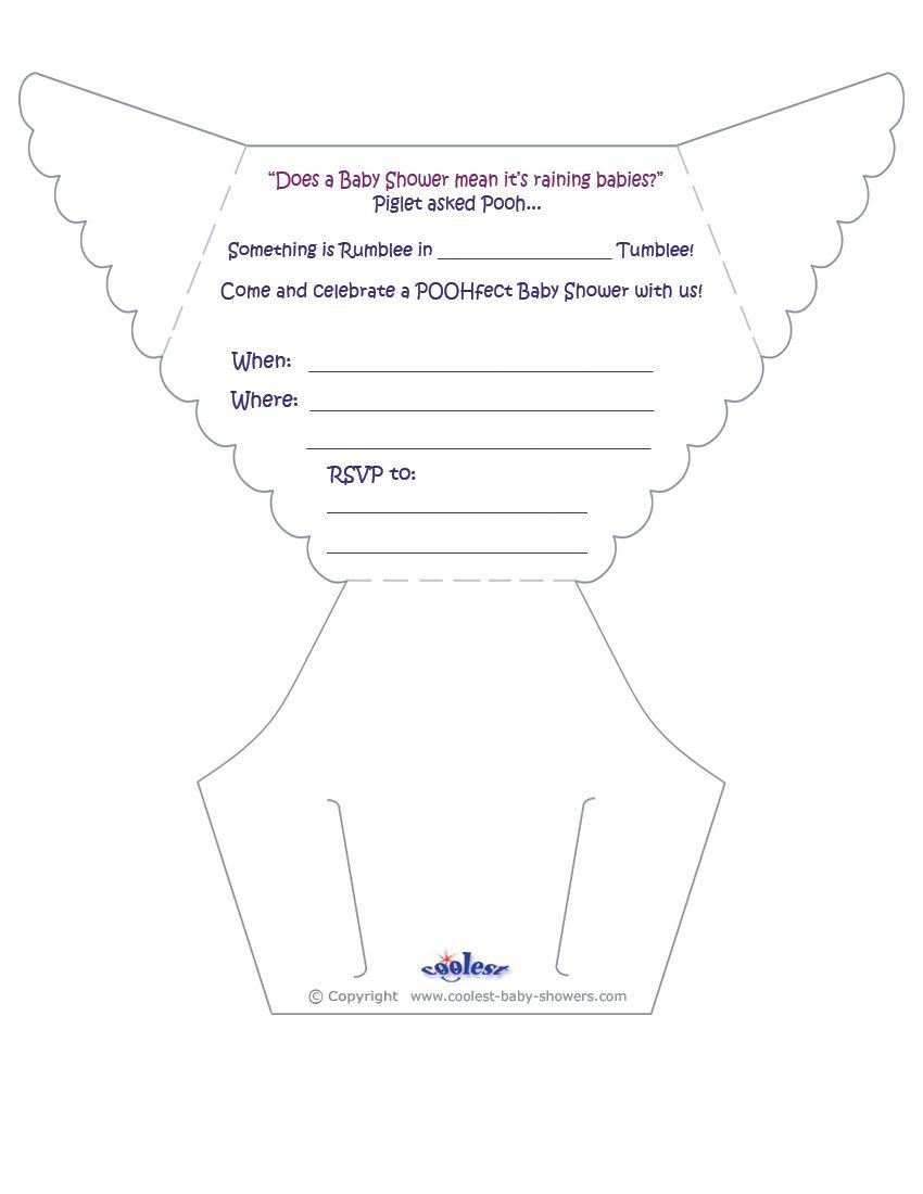 Baby Diaper Invitation Template Free Fasync Invitation Samples Baby Shower Invitations Diy Diaper Baby Shower Invitations Printable Baby Shower Invitations