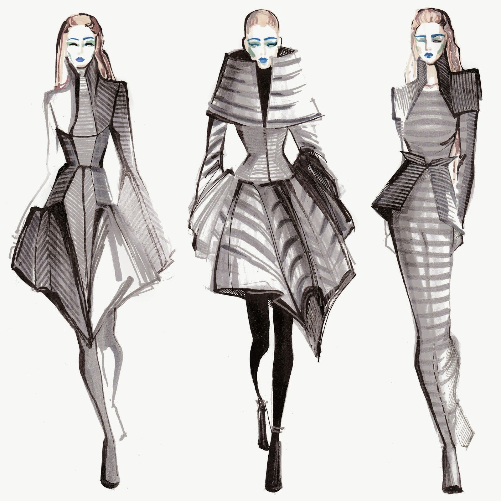 Рисунок мода будущего