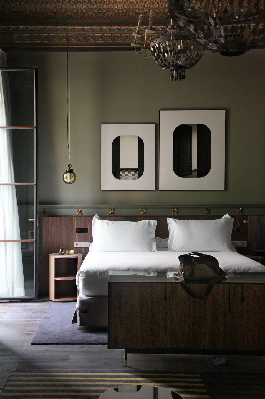 Dark paint ideas for bedroom  Photo by Emilio Lecuona  Passe  partout  Pinterest  Studio
