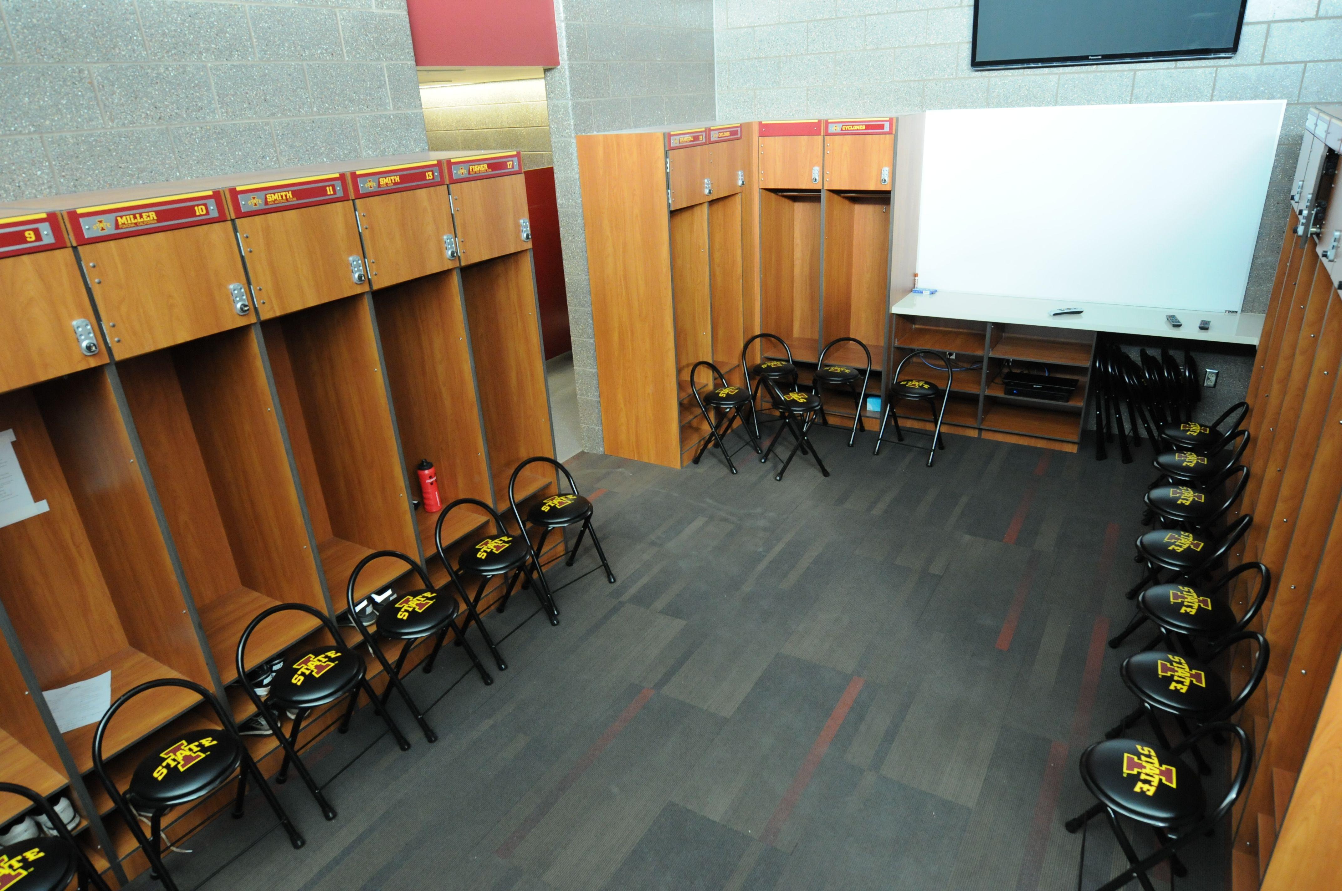 Inside The Cyclone Softball Locker Room Room Home Decor Decor