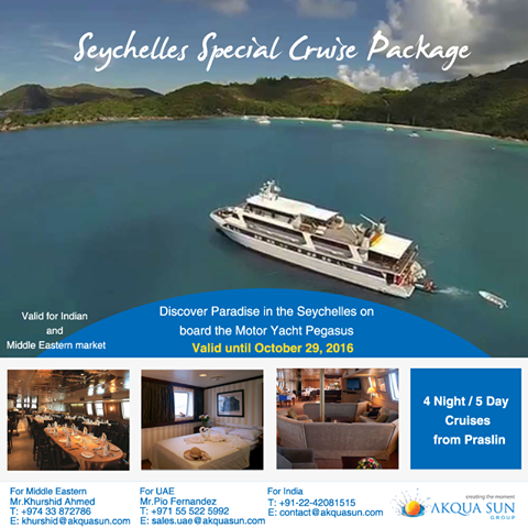 Seychelles Special Cruise Package Night Day Cruises From - 5 day cruises