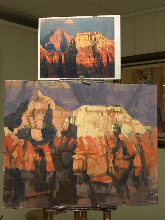 Yesterday's demo 16x20 - SRAL Workshop (Landscapes)