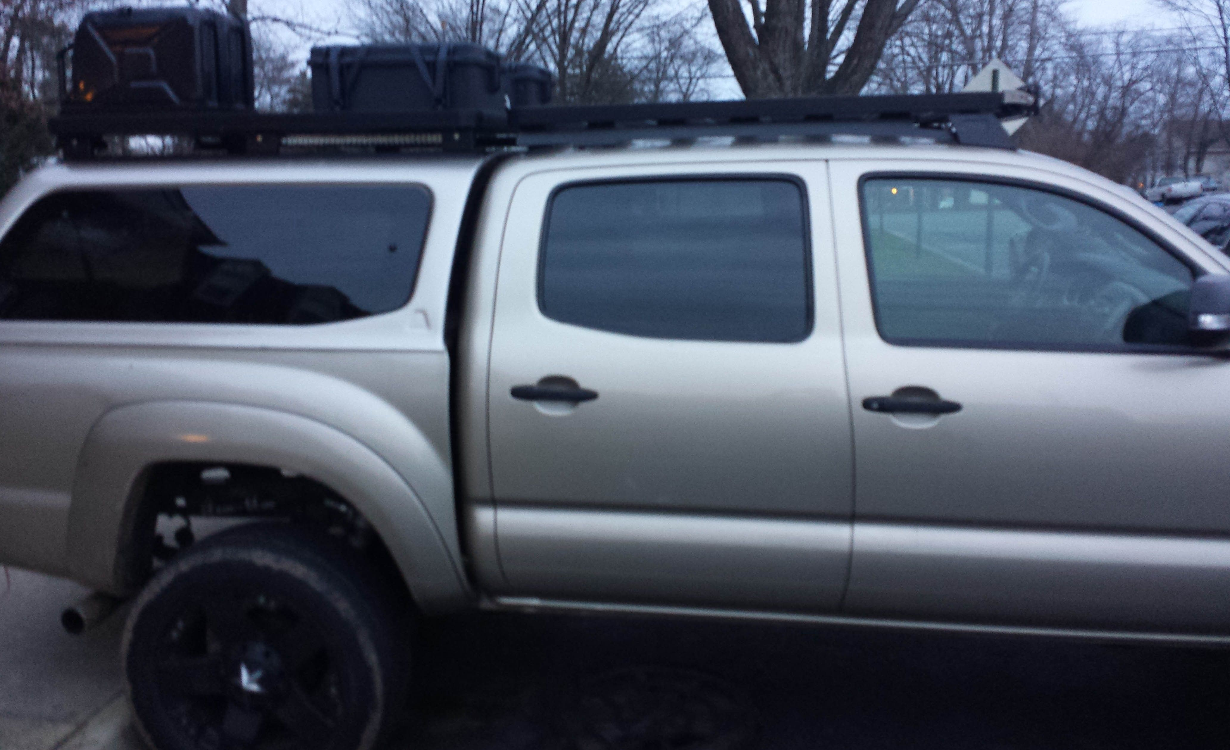 Toyota Tacoma Topper >> Camper Shell Roof Racks - Page 5 - Expedition Portal ...